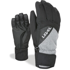 Level Cruise Gants Homme, black-grey